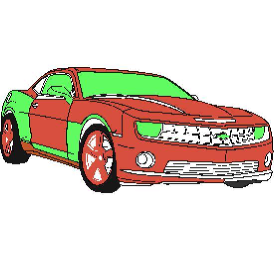 Un coloriage de vehicules r alis par emile - Voiture de sport a colorier ...